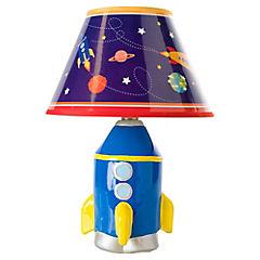 Lámpara de mesa infantil 27x20 cm 40 W Cohete