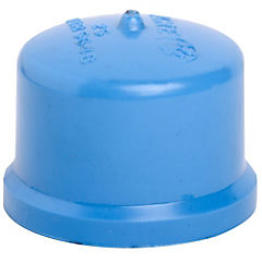 25mm Cementar Tapa PVC presión gorro
