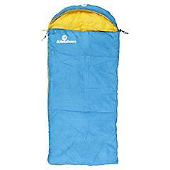Saco de dormir juvenil tipo momia azul