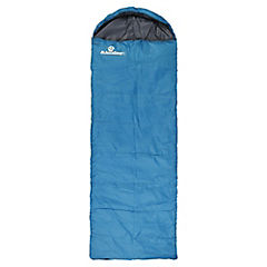Saco de dormir tipo momia turquesa