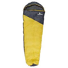 Saco de dormir tipo momia amarillo