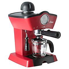 Cafetera espresso rojo