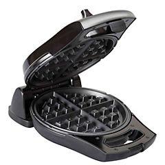Wafflera 4 espacios 800 W negro