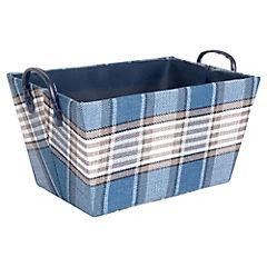 Caja Escocesa 37 x 27 x 20 cm Azul