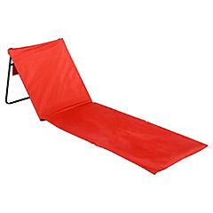 Reposera Portable Roja