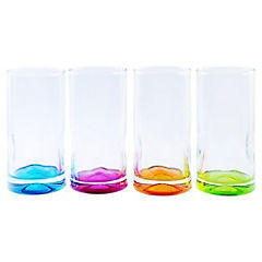 Set 4 Vasos Impression Color