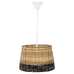 Lámpara de Colgar Mimbre 60W E27