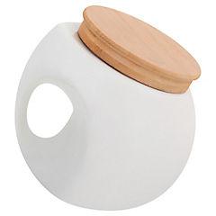 Canister Blanco Porcelana 12 cm
