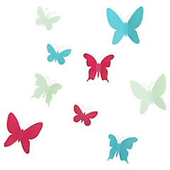Autoadhesivo Mariposas 23 x 28 x 5 cm