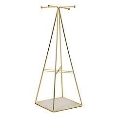 Organizador de joyas 13x37x13 cm Satinado