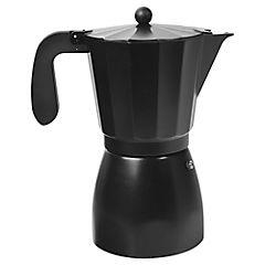 Cafetera aluminio 900 ml negro
