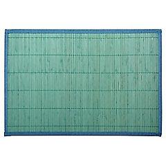 Individual 30x45 cm bambú azul