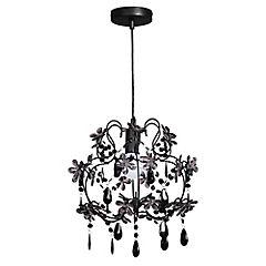 Lámpara Colgante Colette Negro E27