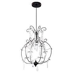 Lámpara Colgante Monroe Negro E14