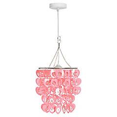 Lámpara Colgante Rosa E27