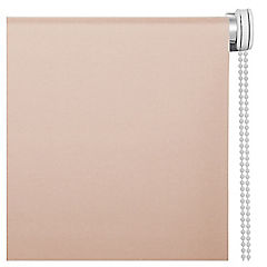 Cortina enrollable Black Out poliéster 120x165 cm beige