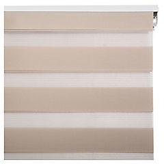 Cortina enrrollable dia - noche beige 120x250