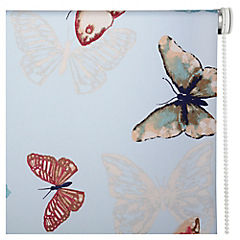 Cortina enrrollable mariposa color 160x165