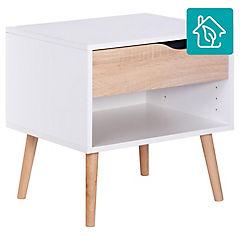 Velador 1 cajón 49x39x50 cm