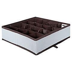 Caja organizadora 29x29x9 gris