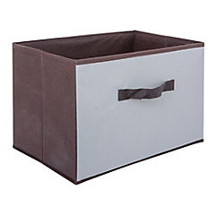 Caja organizadora 39x25,5x26 gris