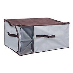 Caja organizadora jumbo 60x45x30 cm gris