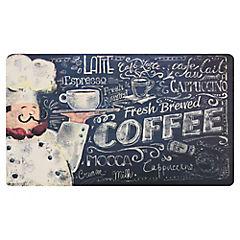 Limpiapiés de cocina Coffee 45x75 cm