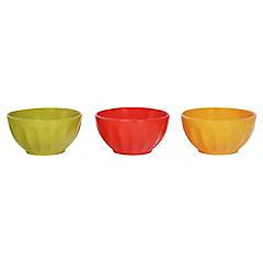 Set 3 bowl 14 cm colores