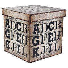 Caja letra - numero 25 cm