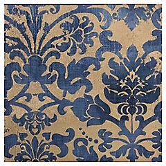 Canvas azul emocionante2 30x30 cm