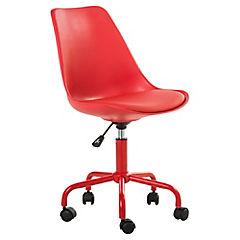 Silla para pc 48x55x83 91 cm rojo for Sillas comodas para pc