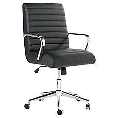 Sillón escritorio 57x65x96x104 cm con ruedas