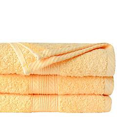 Toalla baño amarillo 70x140 500g