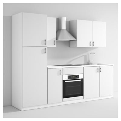 Kit Mueble de Cocina Curry 8 puertas blanco - Sodimac.com