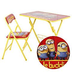 Set mesa + silla infantil Minions