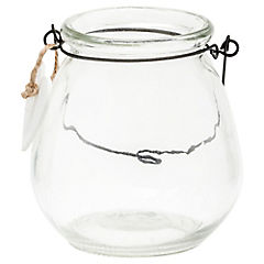 Frasco tealight clear