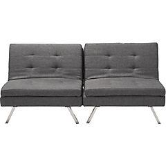 Futón 80x178x89 cm gris
