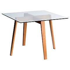 Mesa de comedor Vania 100 x 100 x 76 cm
