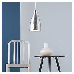 Lámpara de colgar 1 luz Aluminio clasico