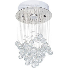 Lámpara de colgar 1 luces GU10 cristal