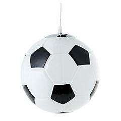 Lámpara colgante infantil 60 W Fútbol