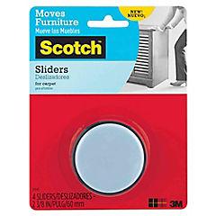 Protector deslizante adhesivo 4 unidades