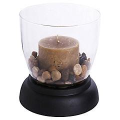 Portavela con base 1 vela-piedras