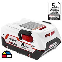 Batería ion litio 20V 4.0 AHR