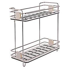 Rack para organización de baño