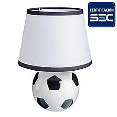 Lámpara de mesa infantil 60 W Fútbol