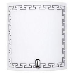 Apliqué de muro 60 W blanco