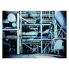 Cuadro vidrio 50 x 70 industrial 1