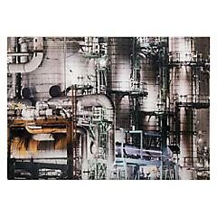 Cuadro vidrio 50 x 70 industrial 2