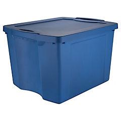 Caja organizadora 75 litros 37,8x48x60,3 cm azul